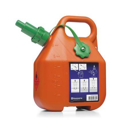 Топливная канистра объемом 6 литров, оранжевого цвета 5056980-01 Husqvarna