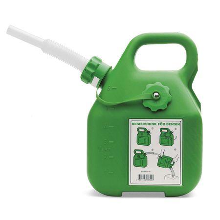 Зеленая канистра для бензина 5056980-40 Husqvarna